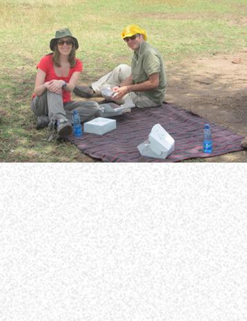 Picnic Lunch, safari in Kenya