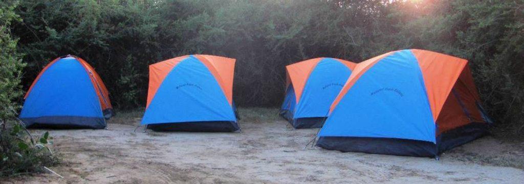 Camping tents, Kenya safari lodges